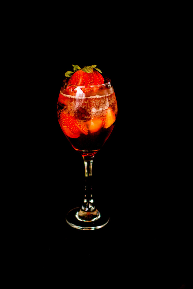 Aperol de frutas vermelhas (espumante)