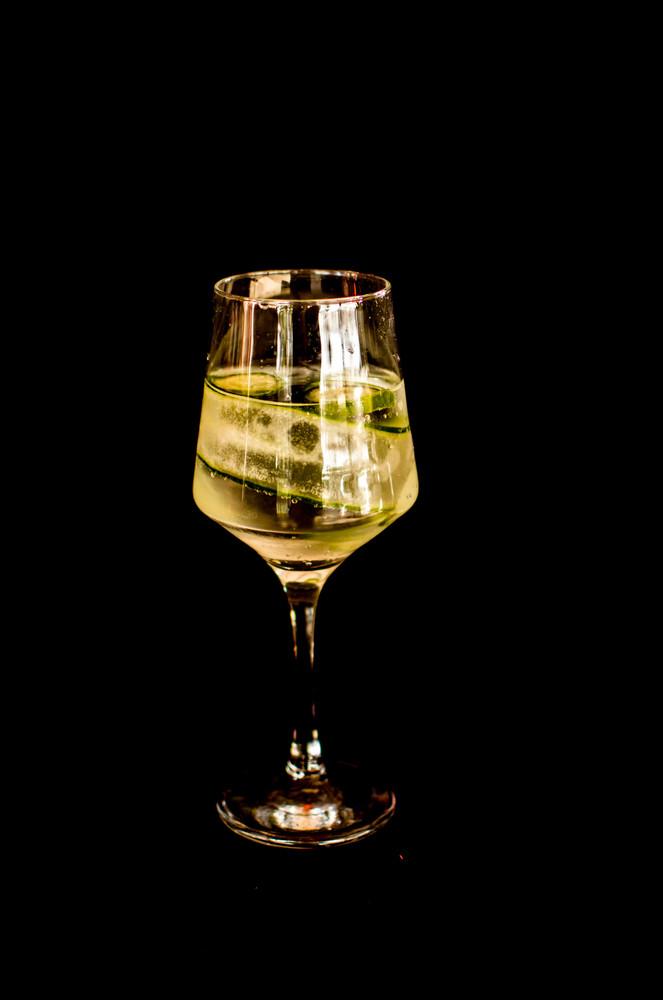 Gin tônica com pepino (gin)